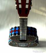 Mozaik design dekor gitár  ELKELT!!!!