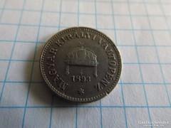 Ritka 10 Fillér 1893 !!