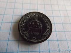 Patinás 2 Fillér 1895 !!