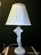 S34 szecessziós porcelán lámpa