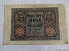 Szép 100 Márka Németország, 1920 !! ( 2 )