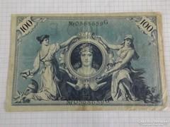 Szép 100 Márka Németország, 1908 !! ( 2 )