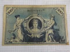 Szép 100 Márka Németország, 1908 !! ( 3 )