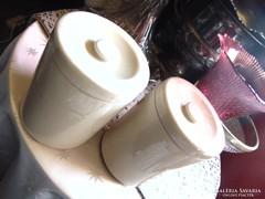 2 db Royal Doulton antik cukor / liszt tartó