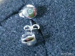 Fehérarany 14K-os, buttonos, stekkeres füli