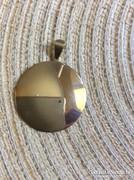 Nagyméretű ezüst medál