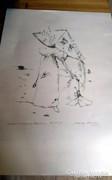 Almásy Aladár litográfia