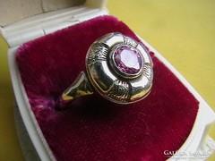 Szép ezüst gyűrű