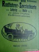 Automobil und Radfahrer Karte 1920-1925
