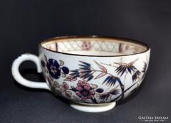 Antik Zsolnay bambusz mintás nagyobb teás csésze