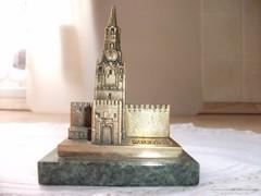 Antik réz templom levélnehezék eladó!