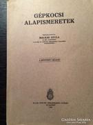 Gépkocsi alapismeretek 1943 / M. Kir Honvéd