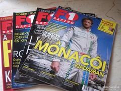 F1 Racing magazinokat árulok 2008.06.07.08.10.11.12-hó