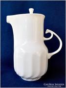 Fehér modern Hollóházi porcelán kiöntő