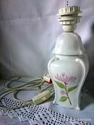 DORIS ENGDAHL 1991-es lótusz virág festésű lámpatest