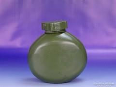 0H587 Régi zöld katonai alumínium kulacs