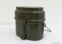 0H588 Régi zöld katonai alumínium csajka