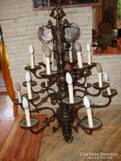 3 emeletes 18 karos bronz csillár 113 cm