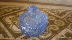 Csiszolt üveg cukorka tartó (bonbonier)