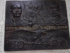 VIRIBUS UNITIS! ÖNTÖTTVAS DOMBORMŰ! 1916!