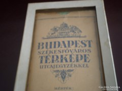 Antik Budapest Térképe