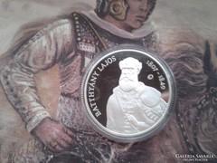 Batthányi ezüst 5000 Ft PP 31,46 gramm 0,925