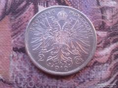 1912 ezüst 2 korona,szép db