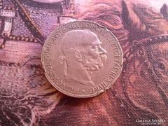 1907 -ezüst 5 korona.24 gramm 0,900 peremhiba