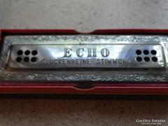 Hohner Echo Harp szájharmónika eredeti dobozában