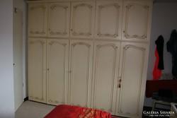 Trüggelman törtfehér  270x235x60cm gardrob szekrény