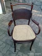 Szecessziós J&J KOHN ( Thonet ) szék - 114 éves !