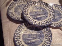 Angol lapos tányér 4 darab