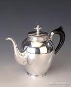 Ezüst gyöngydekoros teás-/kávéskanna