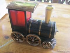 Retro vonat asztali lámpa