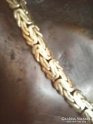 Csodálatos arany nyaklánc nyakék 27gr. 43cm.
