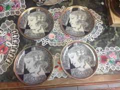 Szász Endre 4db tányér eladó ,  20 cm