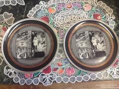 Szász Endre 2db tányér eladó ,  25 cm