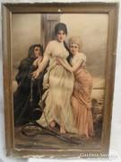 Halász feleségek - fotó 78 x 54 cm.