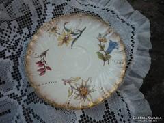Antik fajansz kistányér - Sarreguemines