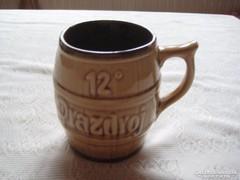 Cseh kerámia sörös korsó