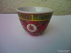 Kézzel festett egyedi kínai szakés pohár