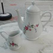 Korona - lengyel tea kiöntő + tejszínes kiöntő