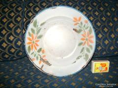 Régi LAMPART jelzésű zománcos tányér