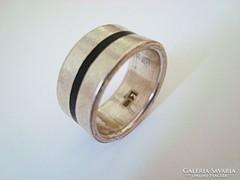 Designer ezüst gyűrű