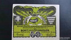 Amatőrök 50 Fillér Bp.1920.