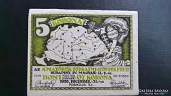 Amatőrök 5 Korona Bp.1920.