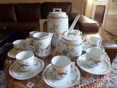 8 személyes Limoges kávés készlet
