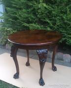 Eredeti Antik Barokk étkező vagy szalon asztal.4 személyes.
