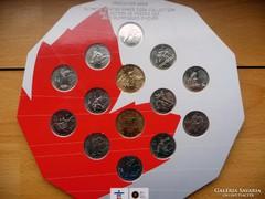 Kanada 2010 Olimpia 1/4 dollár szett + 2 dollár