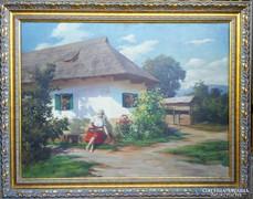 Szontágh Tibor eredeti festménye garanciával